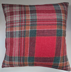 "Cushion Cover in Next Linton Berry Check Tartan 14"" 16"" 18"" 20"""